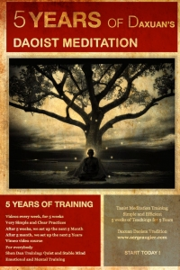 5 years of Daoist Meditation for a quiet and stable mind