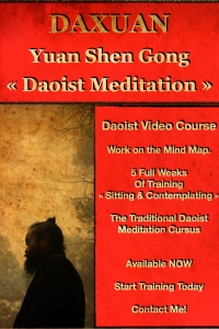 Yuan Shen Gong Daoist Mind Training to balance the Mind Map