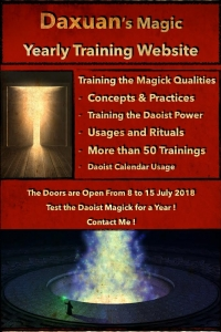 Daoist Magic - Yearly training with concepts, usage, and rituals